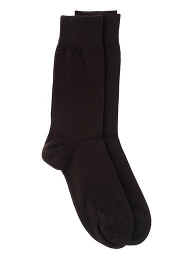 Dagi 2'Li Modal Çorap Kahve